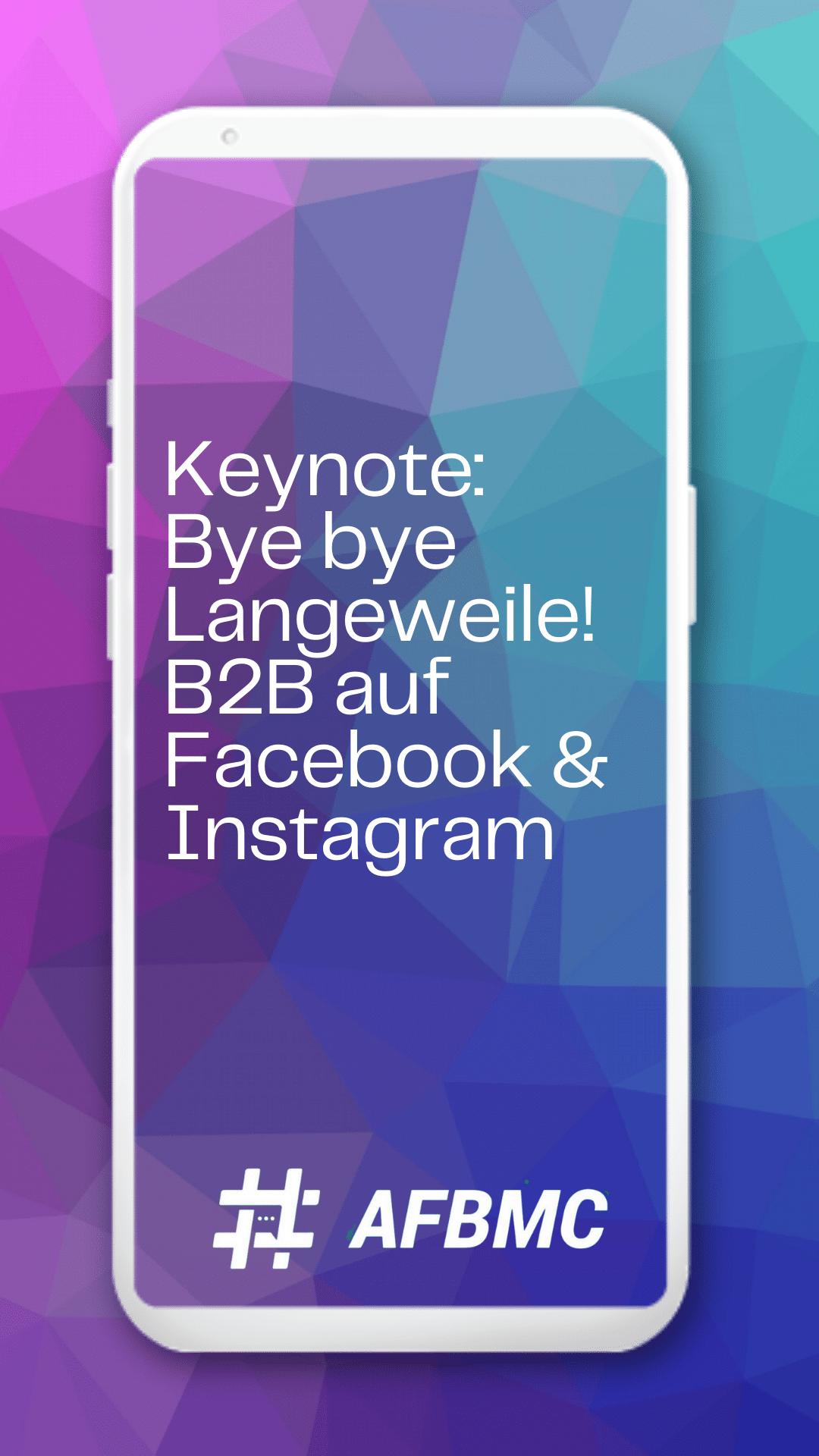 Keynote #AFBMX – Factory Wien
