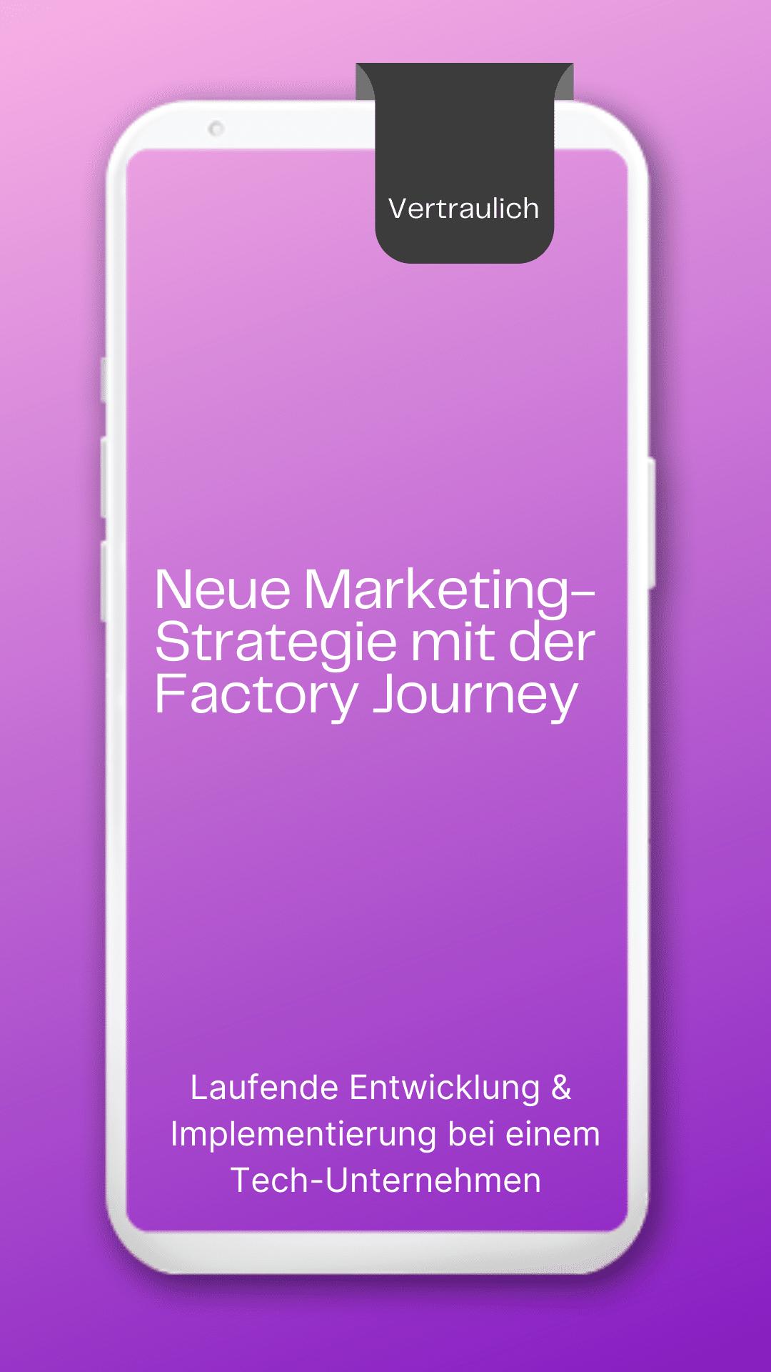 Marketing Strategie & Journey – Factory Wien